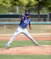 Robinson Ortiz - 2017 AIL Dodgers (Bill Mitchell)