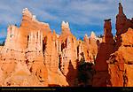 Bryce Canyon Hoodoos, Queen's Garden Trail, Bryce Canyon National Park, Utah
