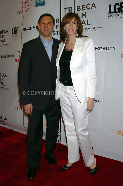 Tribeca Film Festival co-founders Craig Hatkoff and Jane Rosenthal arrived at the premiere of 'Stage Beauty' on the final day of the 2004 event. New York City. May 8 2004. Please byline: AJ SOKALNER/ACE Pictures.   ..*PAY-PER-USE*      ....IMPORTANT: Please note that our old trade name, NEW YORK PHOTO PRESS (NYPP), is replaced by new name, ACE PICTURES. New York Photo Press and ACE Pictures are owned by All Celebrity Entertainment, Inc.......All Celebrity Entertainment, Inc:  ..contact: Alecsey Boldeskul (646) 267-6913 ..Philip Vaughan (646) 769-0430..e-mail: info@nyphotopress.com