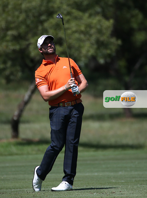 Matthew Baldwin(ENG) during Round One of the 2016 Tshwane Open, played at the Pretoria Country Club, Waterkloof, Pretoria, South Africa.  11/02/2016. Picture: Golffile | David Lloyd<br /> <br /> All photos usage must carry mandatory copyright credit (&copy; Golffile | David Lloyd)