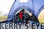 Thermo Tents Ltd, Tom Crean Centre Pictured Derek O'Sullivan, CEO, with Maalis Kuusk and  Joseph Hartnett,