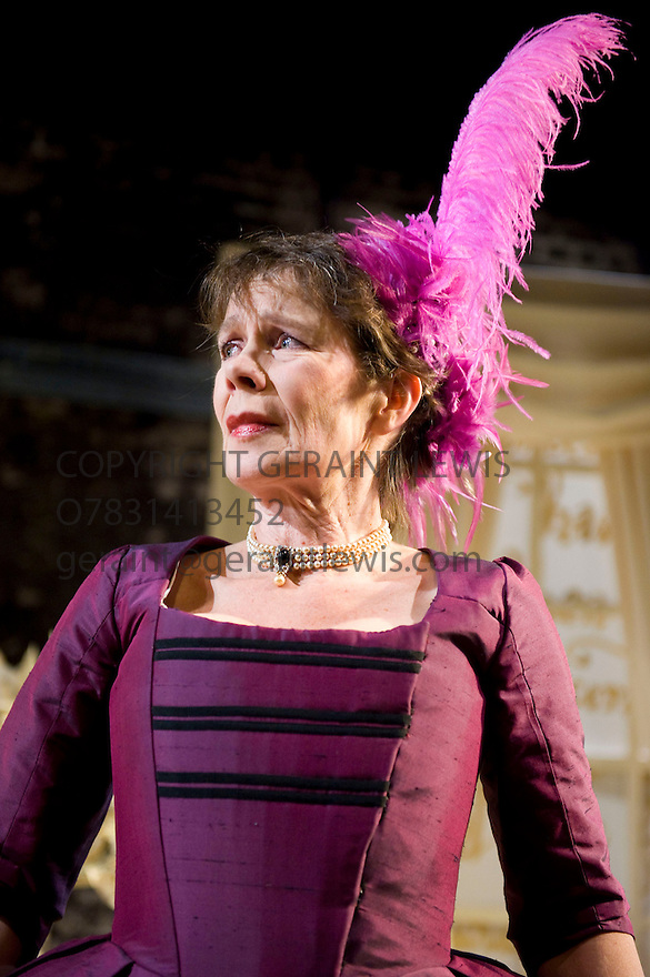 The Rivals by Richard Brinsley Sheridan.Directed by Jessica Swale. With Celia Imrie as Mrs Malaprop.Opens at The Southwalk Playhouse Theatre on 15/1/10. CREDIT Geraint Lewis