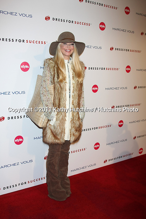 LOS ANGELES - NOV 7:  Charlotte Ross arrives at the 3rd Annual Give & Get Fete at The London West Hollywood on November 7, 2011 in West Hollywood, CA