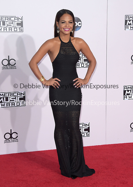 Christina Milian at The 2014 American Music Award held at The Nokia Theatre L.A. Live in Los Angeles, California on November 23,2014                                                                               © 2014 Hollywood Press Agency