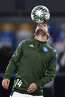Dries Mertens of Napoli during the warm up<br /> Napoli 05-11-2019 Stadio San Paolo <br /> Football Champions League 2019/2020 Group E<br /> SSC Napoli - FC Salzburg<br /> Photo Cesare Purini / Insidefoto