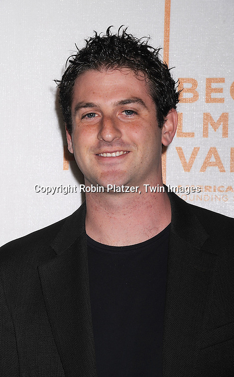 "juror Jared Cohen..arriving at The Tribeca Film Festival's  screening of ""Speed Racer'  on May 3, 2008 at Borough of Manhattan Community College/TPAC in New York City. ....Robin Platzer, Twin Images"