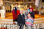 'Three Tenors for €20' Church of St. Stephen & John Castleisland launch Their Magical Christmas Charity Concert with the Three Tenors in Concert  on Tuesday 19th December 8pm. Pictured Parish Council front Fr. Dan O'Riordan and Reenie McCarthy, Back Left Mary McGailey  , John Breen, Emer Nelligan Back Right Sheila McSweeney, John Flaherty, Marie Nelligan, Jack Shanahan