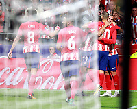 Atletico Madrid's French forward Antoine Griezmann