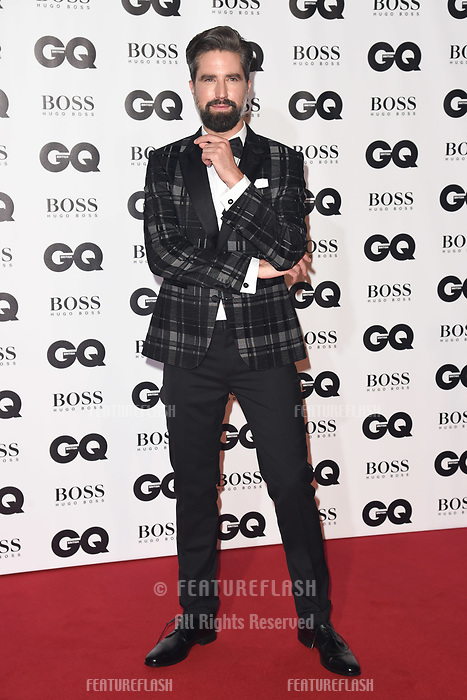 LONDON, UK. September 05, 2018: Jack Guinness at the GQ Men of the Year Awards 2018 at the Tate Modern, London