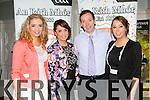 Muiriosa, Brid, Dan and Sheila O'Leary enjoying the craic at the Rathmore GAA social in the Killarney Avenue on Friday night