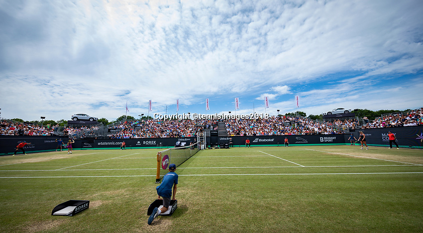 Den Bosch, Netherlands, 16 June, 2018, Tennis, Libema Open, overall view Centercourt<br /> Photo: Henk Koster/tennisimages.com