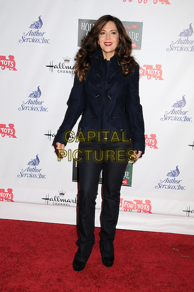 Maria Canals-Barrera.2012 Hollywood Christmas Parade held on Hollywood Blvd., Hollywood, California, USA.  .November 25th, 2012.full length black blue jacket jeans denim.CAP/ADM/BP.©Byron Purvis/AdMedia/Capital Pictures.