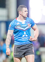 Picture by Allan McKenzie/SWpix.com - 09/02/2018 - Rugby League - Betfred Super League - Wakefield Trinity v Salford Red Devils - The Mobile Rocket Stadium, Wakefield, England - Luke Burgess.
