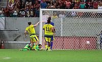 RECIFE-PE-29.06.2016-JOGO DO BEM-PE-  Gol de Wesley Safadão durante evento Jogo do Bem, realizado na Arena Pernambuco, zona oeste da Grande Recife, nesta quarta-feira, 29. (Foto: Jean Nunes/Brazil Photo Press)