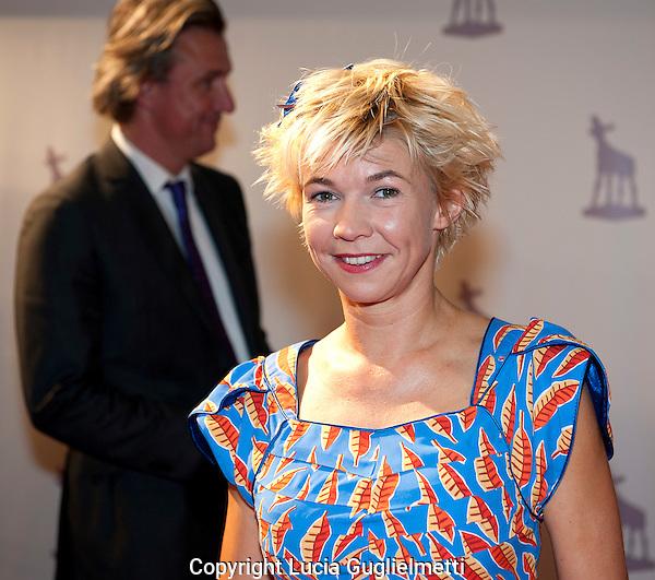 Utrecht,21 sept 2011 .Nederlands FILM FESTIVAL.Rode Loper De Bende Van Oss.Isolde Hallensleben.Foto Lucia Guglielmetti.