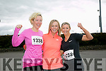 Eileen O'Sullivan, Siobhan Breen, and Helena Breen at the Kingdom Come 10 miler and 5k race at Castleisland on Sunday