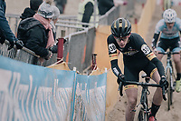 Thibau Nys (BEL/U17) on his way to a 2nd national champions title<br /> <br /> Belgian National CX Championships / Koksijde 2018