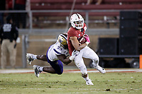 Stanford, CA - October 05, 2019: Cameron Scarlett during the Stanford vs Washington football game Saturday night at Stanford Stadium.<br /> <br /> Stanford won 23-13.