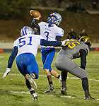 A photo from the McQueen at Galena Northern Division I playoff football game played on Friday night, November 6, 2015 at Galena High School in Reno, Nevada.