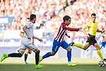 Antoine Griezmann of Atletico de Madrid in action during their La Liga match between Atletico de Madrid and Sevilla FC at the Estadio Vicente Calderon on 19 March 2017 in Madrid, Spain. Photo by Diego Gonzalez Souto / Power Sport Images