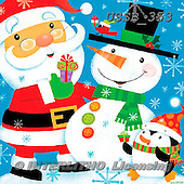 Sarah, CHRISTMAS SANTA, SNOWMAN, WEIHNACHTSMÄNNER, SCHNEEMÄNNER, PAPÁ NOEL, MUÑECOS DE NIEVE, paintings+++++XmasGang-11-A-1,USSB353,#X#