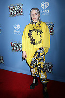 "LOS ANGELES - MAY 6:  Billie Eilish at the ""Everything, Everything"" Premiere on the TCL Chinese 6 Theater on May 6, 2017 in Los Angeles, CA"