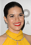 America Ferrera arriving at the NBCUniversal Golden Globes After Party Red Carpet held at the Beverly Hilton Hotel Los Angeles Ca. January 10, 2016