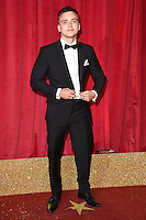 Perry Glasspool<br /> arrives for the British Soap Awards 2016 at Hackney Empire, London.<br /> <br /> <br /> &copy;Ash Knotek  D3124  28/05/2016
