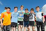 Enjoying the Spa NS Donal Walsh  6km Challenge Walk or Run on Sunday were Oisín Karakus, Mark Stephenson, Joe Lennihan, Brian Hamilton, Harry Boyd and Cian Kearney from Tralee