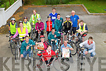 COMMUNITY: Members of Crotta GAA Club who will be holding a Community Cycle from Crotta GAA Club, Kilflynn to the surrounding towns on Sunday 21st they are, Lixnaw,Abbeydorney and retrurn to Crotta GAA Club the cycle is to raise funds for the club.......COMMUNITY: Members of Crotta GAA Club who will be holding a Community Cycle from Crotta GAA Club, Kilflynn to the surrounding towns on Sunday 21st they are, Lixnaw,Abbeydorney and retrurn to Crotta GAA Club the cycle is to raise funds for the club. in front Jack Joyce Back were, Cryil Lynch, Kathleen Costello, Johnny Hannon, Graham Harris, Paul Culhane, Mary Dillane, Breege McElligott, Ann O'Sullivan, Nuala Brassil,Bobs Barry, Brendan Culhane, Eoin Lynch,Dan Brassil, Michael Barry and Mark Baker.....On August 21st The Crotta GAA Club will be out in force with their bycles to raise funds for their club,as they launched it on Wednesday evening. Front was Jack Joyce. 2nd row l-r: Cryil Lynch, Kathleen Costello,Johnny Hannon, Graham Harris and Paul Culhane. Back l-r: Mary Dillane, Breege McElligott, Mary Fealy, Ann O'Sullivan, Nuala Brassil, Babs Barry, Brendan Culhane, Eoin Lynch, Dan Brassil, Michael Barry and Mark Baker. ....