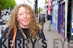 Caroline Kileen, Killarney. .The town is very laid back and all the shops have a great variety of products to choose from.