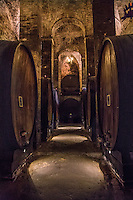 The large wine cellars beneath the streets Montepulciano. (Photo by Travel Photographer Matt Considine)