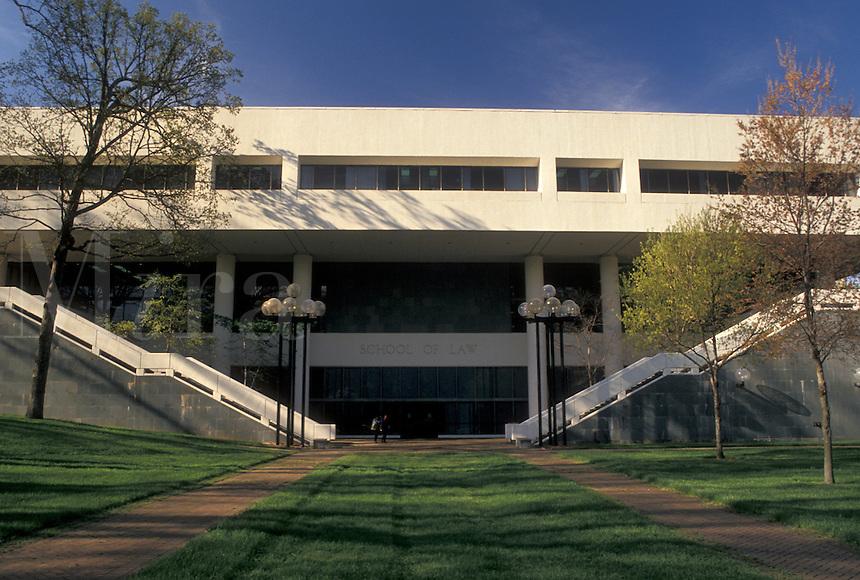 university, Atlanta, Georgia, GA, Emory School of Law on the Emory University campus in Atlanta.
