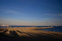 Barcelona_Catalunya, Espanha...Litoral da cidade de Barcelona, capital da provincia da Catalunya...The Coastal Barcelona, capital of the Catalunya province...Foto: JOAO MARCOS ROSA / NITRO