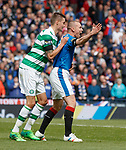 Kenny Miller appeals for a penalty