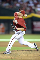 Arizona Diamondbacks pitcher David Hernandez (30) during a game against the Washington Nationals at Chase Field on September 29, 2013 in Phoenix, Arizona.  Arizona defeated Washington 3-2.  (Mike Janes/Four Seam Images)