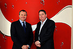 23rd October, 2006. Official opening of CPS (Coke 2) building, Donore Road, Drogheda. .Photographed at the above from L to R: Mark van Dyck (Regional Manager, Coca Cola Ireland) and Mark Ferguson (General Manager CPS Ireland)..Photo: BARRY CRONIN/Newsfile..(Photo credit should read BARRY CRONIN/NEWSFILE).<br />