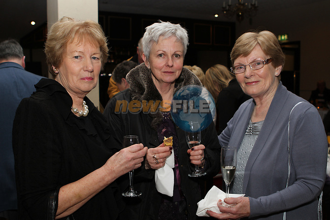 Eilis Hughes, Marie Leonard and Margaret Woods at the Boyne Valley Country Club Members Appreciation Night in the Boyne Valley Hotel...(Photo credit should read Jenny Matthews/NEWSFILE)...