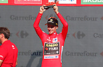 Primoz Roglic (SLO) Team Jumbo-Visma annihilates the field to win Stage 10 and is the new race leader Red Jersey of La Vuelta 2019 an individual time trial running 36.2km from Jurancon to Pau, France. 3rd September 2019.<br /> Picture: Luis Angel Gomez/Photogomezsport | Cyclefile<br /> <br /> All photos usage must carry mandatory copyright credit (© Cyclefile | Luis Angel Gomez/Photogomezsport)