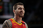 Juancho Hernangomez of Spain during the Friendly match between Spain and Dominican Republic at WiZink Center in Madrid, Spain. August 22, 2019. (ALTERPHOTOS/A. Perez Meca)