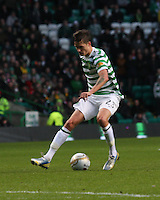 Mikael Lustig in the Celtic v St Mirren Clydesdale Bank Scottish Premier League match played at Celtic Park, Glasgow on 15.12.12.