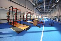 SCHAATSEN: HEERENVEEN: IJsstadion Thialf, 06-12-2016, ISU World Cup-training, krachthonk, ©foto Martin de Jong