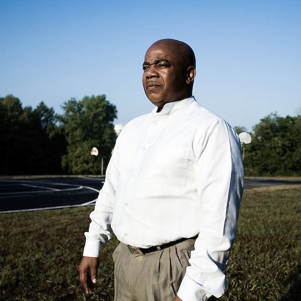 September 15, 2007, Durham, NC..Reverend Sylvester Williams, community activist for the neighborhood surrounding the proposed East End connector.