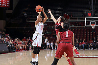 Stanford, CA - January 12, 2018:  Stanford Women's Basketball wins over Washington State 70-57 at Maples Pavilion.