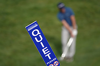 Marshals sign during the third round of the Porsche European Open , Green Eagle Golf Club, Hamburg, Germany. 07/09/2019<br /> Picture: Golffile | Phil Inglis<br /> <br /> <br /> All photo usage must carry mandatory copyright credit (© Golffile | Phil Inglis)
