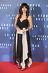 Marta Fernandez attends `La verdad duele´ (Concussion) film premiere at Callao cinema in Madrid, Spain. January 27, 2015. (ALTERPHOTOS/Victor Blanco)