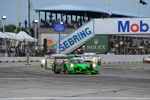 16-19 March, 2016, Sebring, Florida USA<br /> 2, Honda HPD, Ligier JS P2, P, Scott Sharp, Ed Brown, Joannes van Overbeek, Luis Felipe Derani<br /> ©2016, Richard Dole<br /> LAT Photo USA