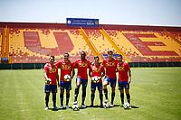 Futbol 2019 Presentación refuerzos Union Española