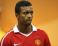 Nani #17 of Manchester United during the 2010 MLS All-Star match against the MLS All-Stars at Reliant Stadium, on July 28 2010, in Houston, Texas. ManU won 5-2.