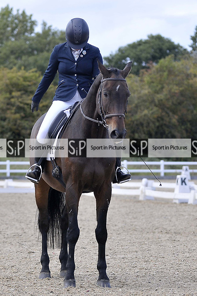 Class 8. Unaffiliated Dressage. Brook Farm training centre. Essex. 30/09/2017. MANDATORY Credit Garry Bowden/Sportinpictures - NO UNAUTHORISED USE - 07837 394578